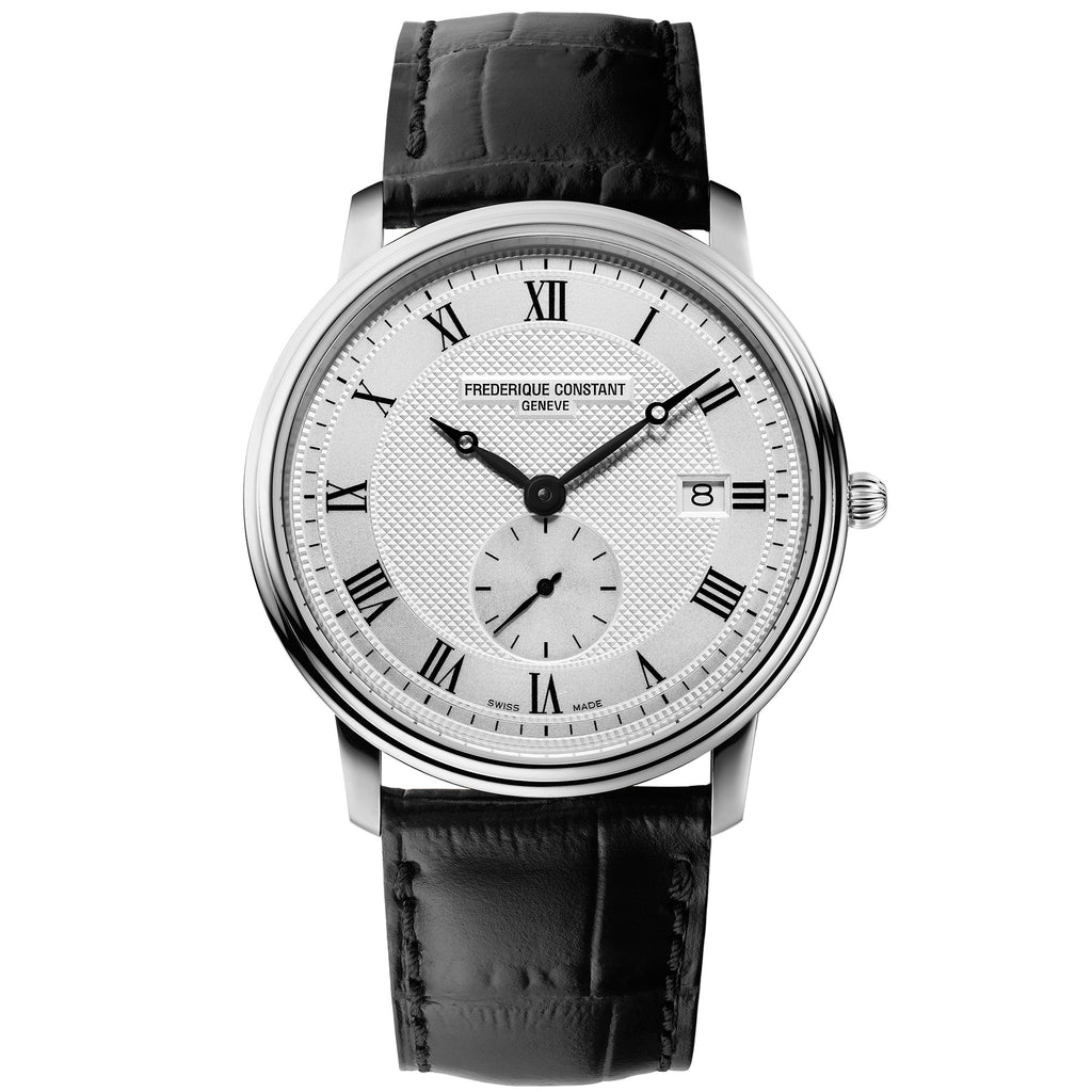 Frederique Constant FC-245M5S6 Classics Slimline Small Seconds Strap Leather Gents Watch