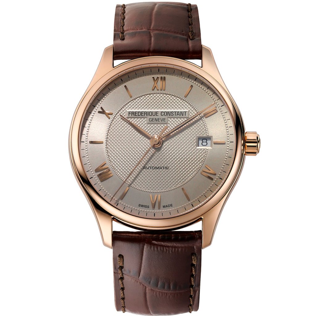 Frederique Constant FC-303MLG5B4 Classics Index Strap Leather Gents Watch