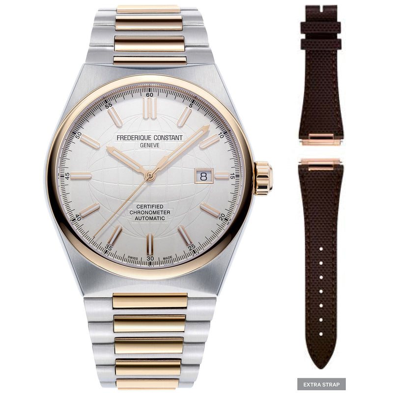 Frederique Constant FC-303V4NH2B Highlife Automatic Cosc Gents Bracelet Watch
