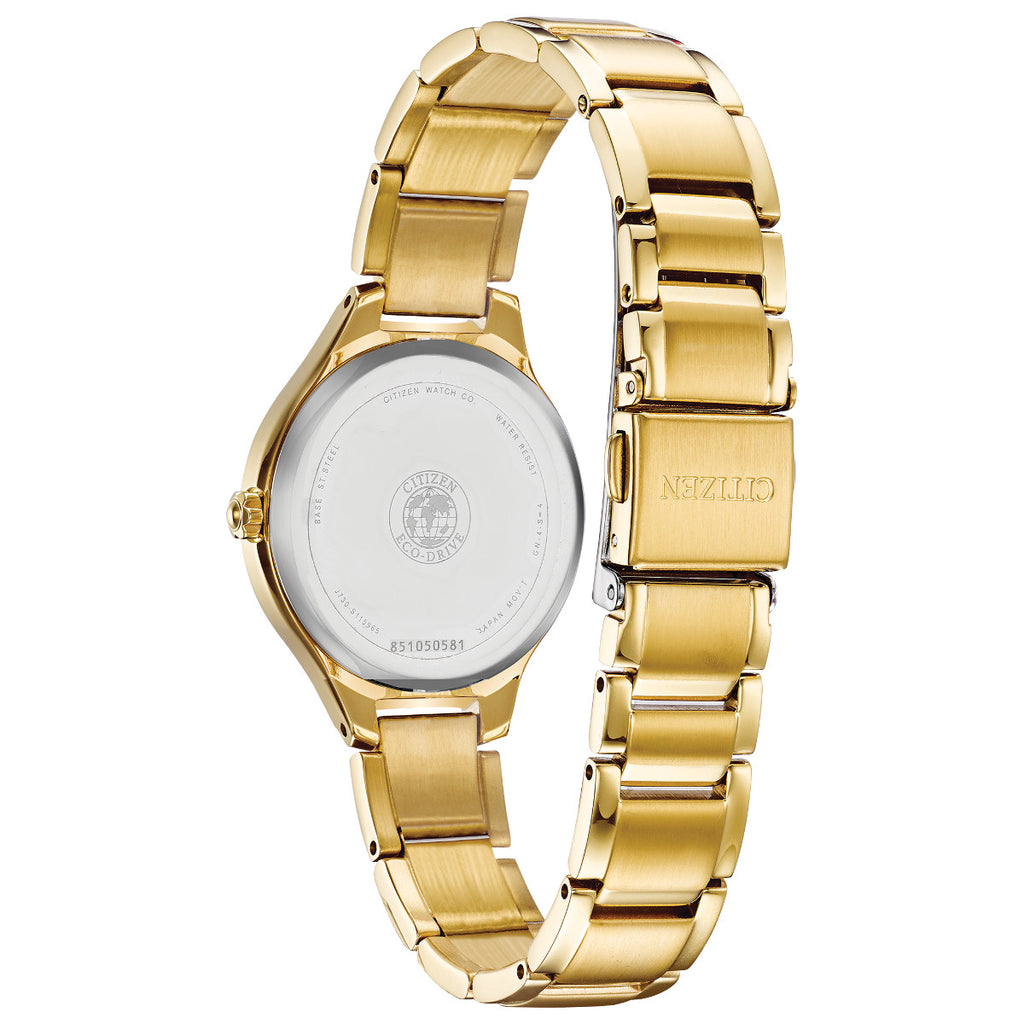 Citizen FE2102-55A Corso Gold Tone Stainless Steel Bracelet Watch