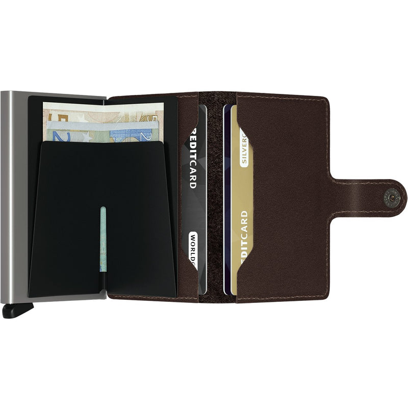 Secrid Miniwallet Original Dark Brown Wallet