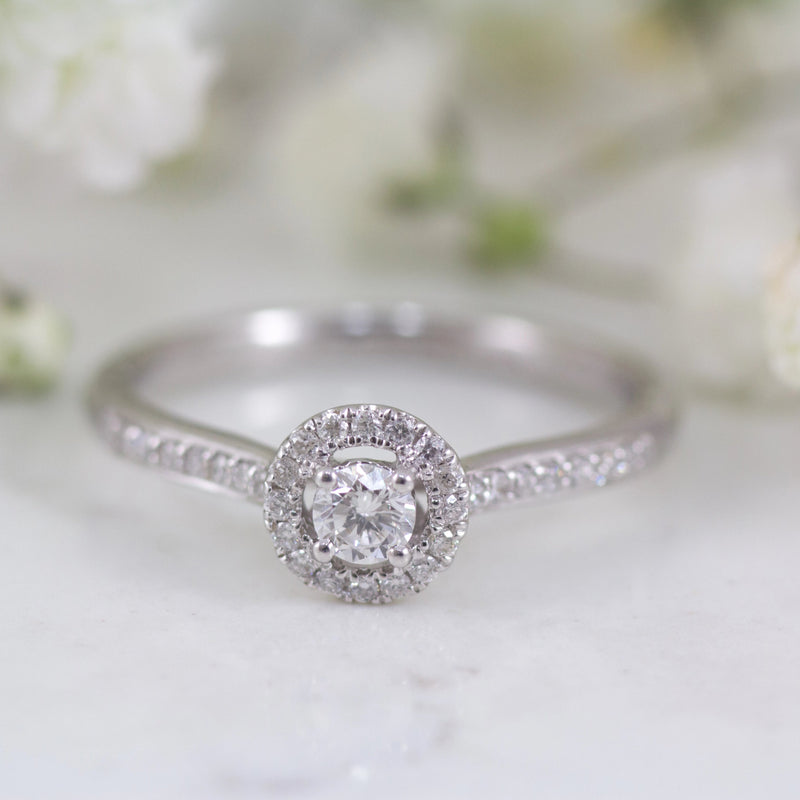 Beatrice Engagement ring with 0.50cts