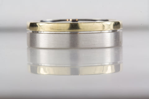 5mm Palladium 950 gents wedding band