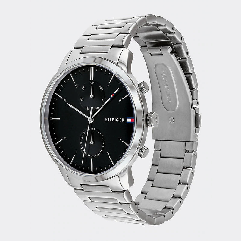 Tommy Hilfiger 1710407 Box-Link Strap Watch - Silver