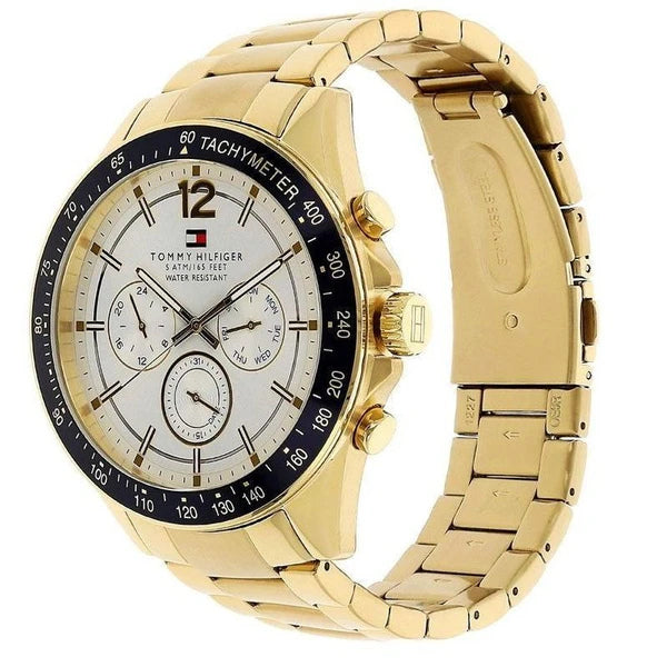 Tommy Hilfiger 1791121 Sophisticated Sport Gold-Tone Stainless Steel Watch