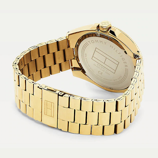 Tommy Hilfiger 1791686 Chain Link Strap Yellow Gold-Plated Watch - Yellow Gold