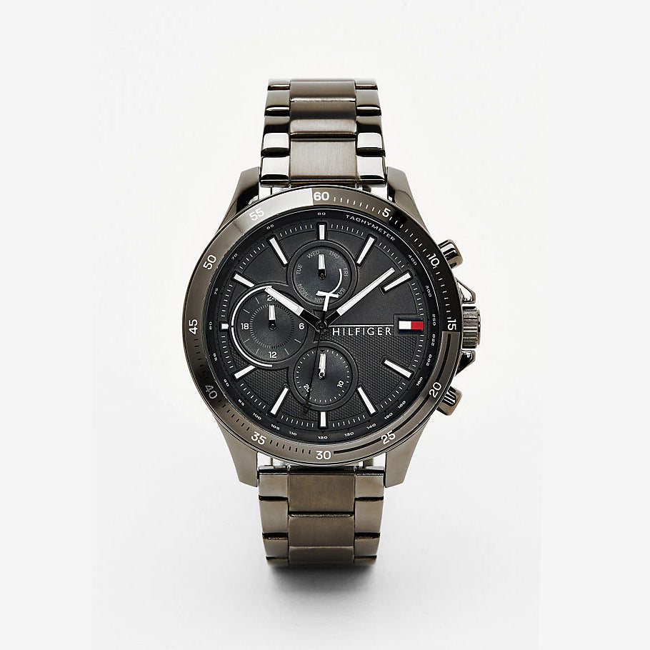 Tommy Hilfiger 1791719 Gunmetal Steel Chronograph Watch