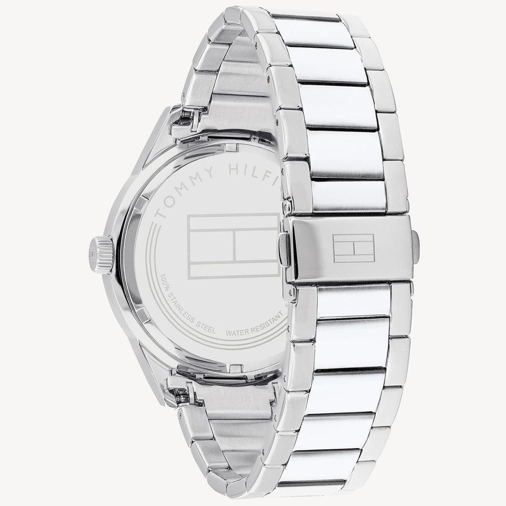 Tommy Hilfiger Stainless Steel Multi Eye Watch - Silver/Blue