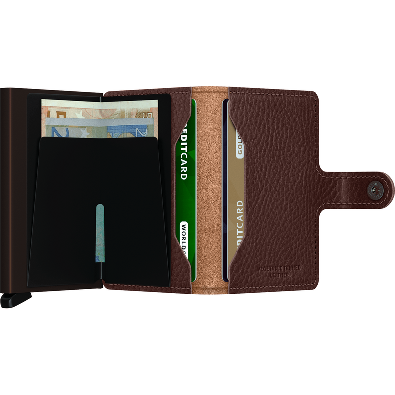 Secrid Miniwallet Veg Espresso-Brown Wallet
