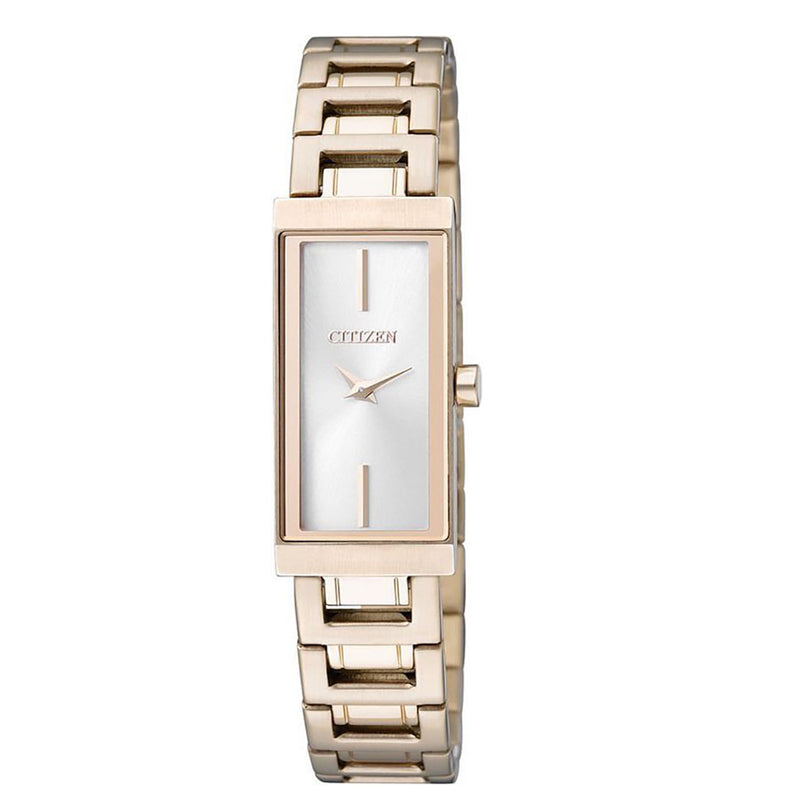 Citizen EZ6333-52A Classic Rose Gold Stainless Steel Bracelet Watch