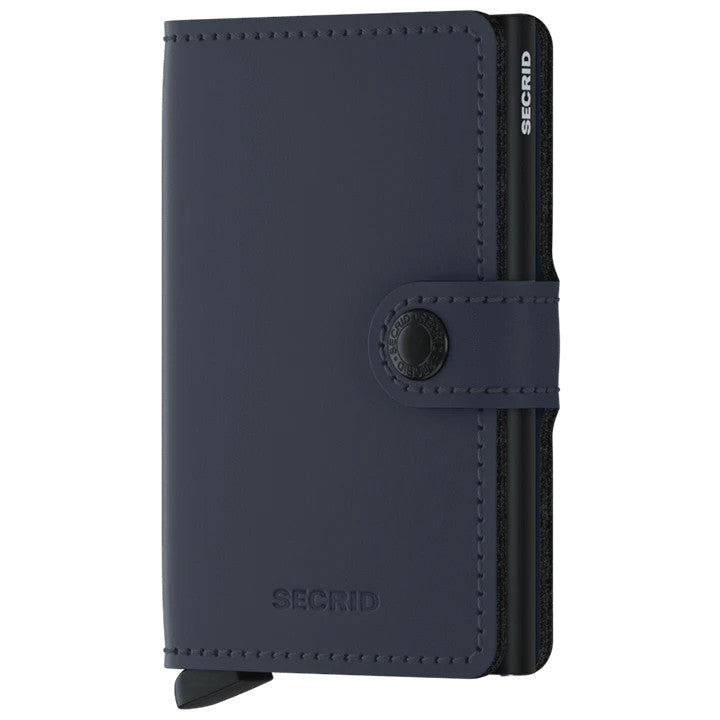 Secrid Miniwallet Matte Nightblue Wallet