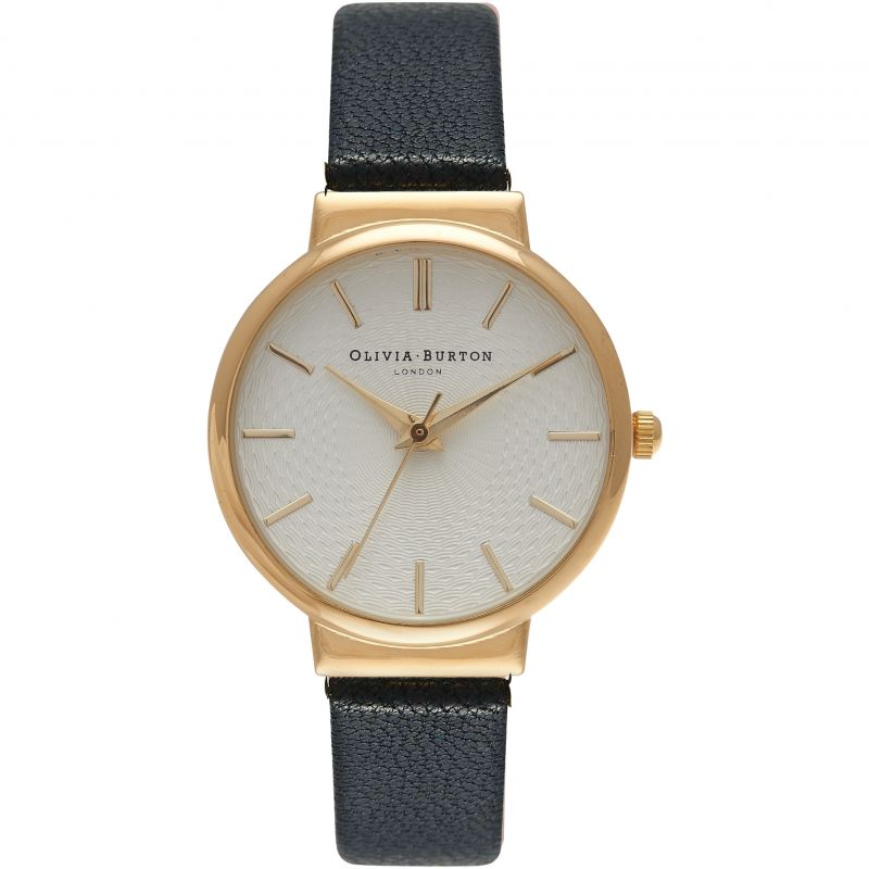 Olivia Burton OB15TH01 The Hackney Gold & Black Watch