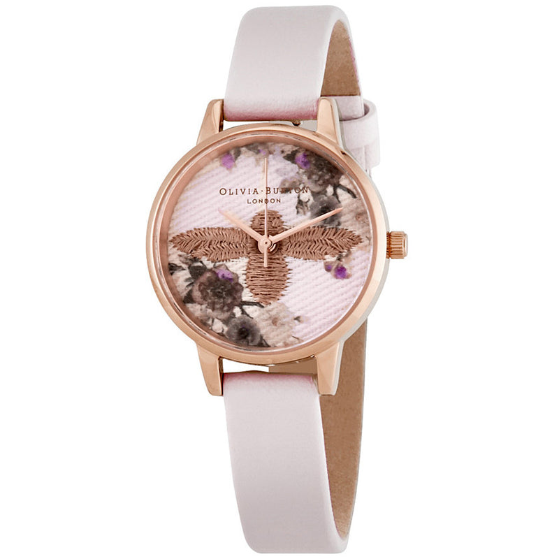 Olivia Burton OB16EM06 Embroidered Dial Ladies Watch