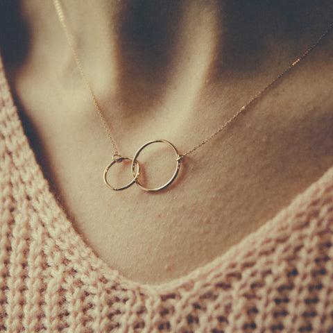 9 carat rose gold heart pendant