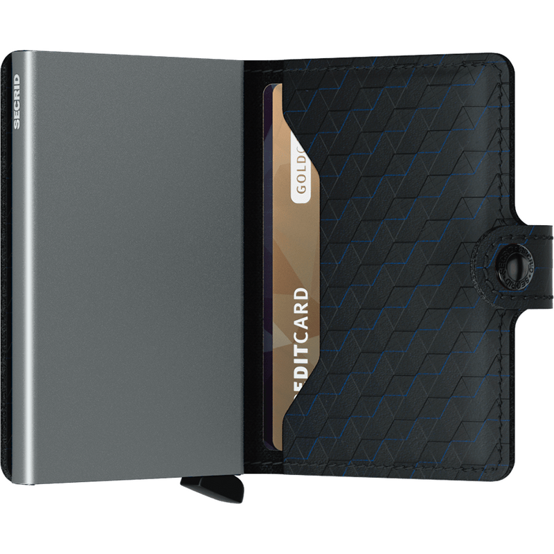 Secrid Miniwallet Optical Black-Titanium Wallet