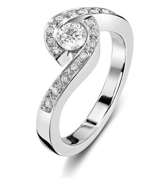 Daphney Engagement wrap around ring