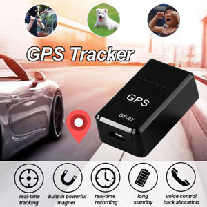 GPS Tracker GF-07 Real-time Tracking Call SMS Coordinate Voice Monitoring