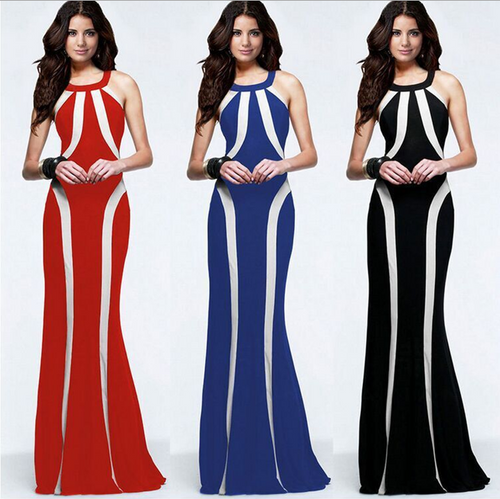 New Elegant Women Sexy Evening Dress Formal Floral Valentine's day dress