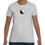 Women's Yin Yang Peace & Love T-shirt
