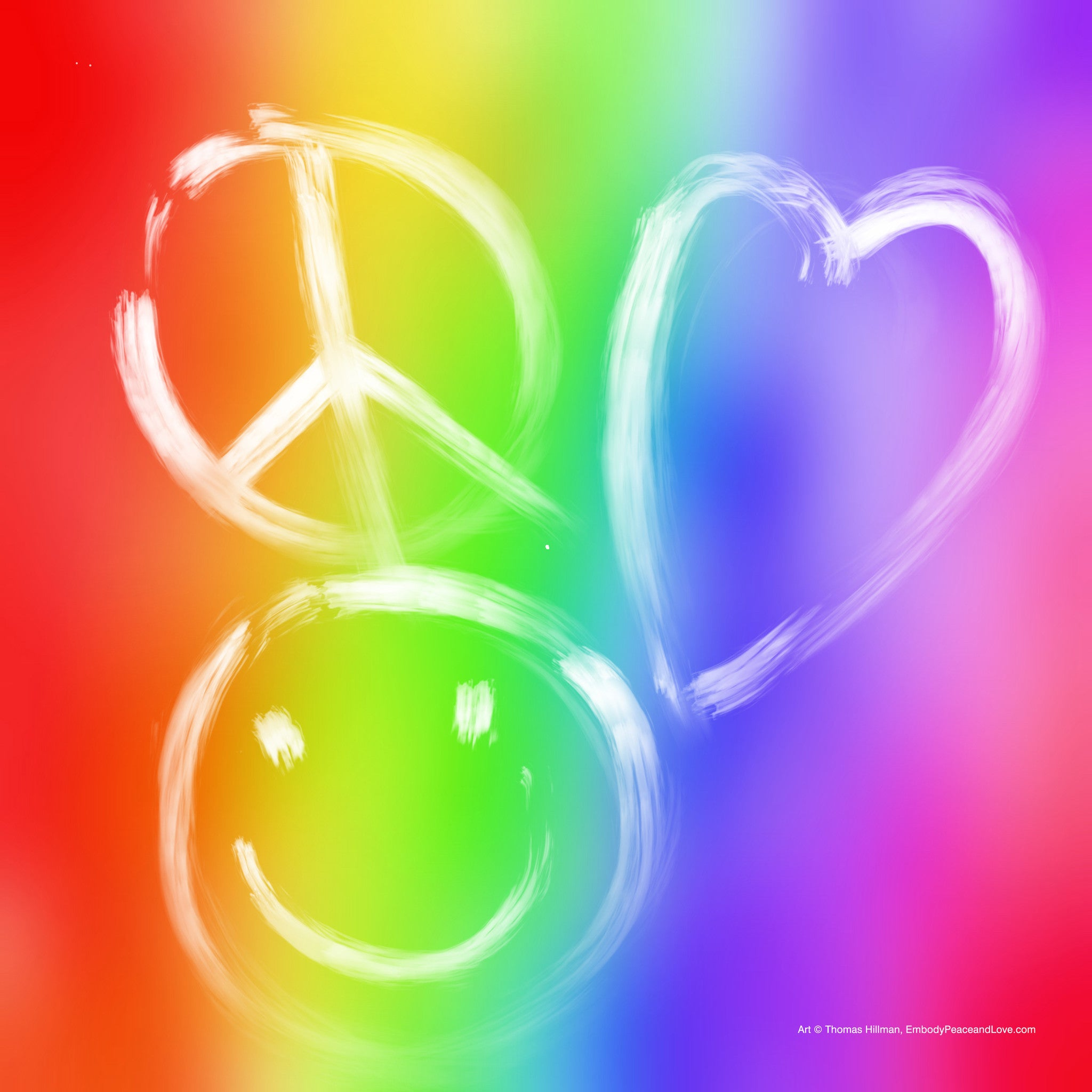 Poster_Peace Love Happy No.1