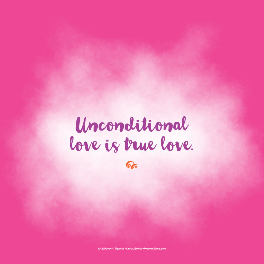 Poster_Unconditional love is true love
