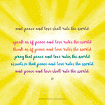Poster_And peace and love shall rule the world