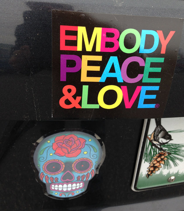 Embody Peace & Love® Sticker