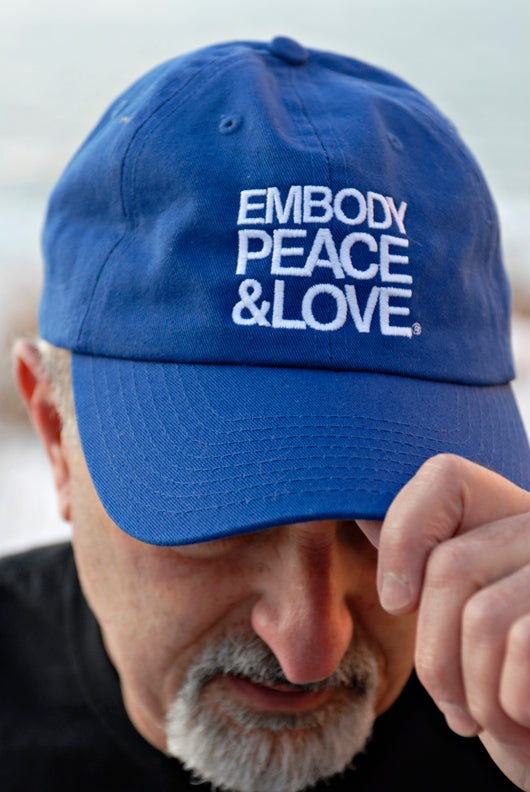 Unisex Embody Peace and Love cap