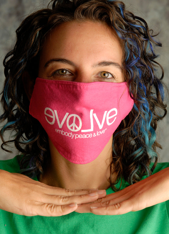 Face Mask ~ evolve on colored masks. Buy any 2 Face Masks get $2.08 Off at checkout!
