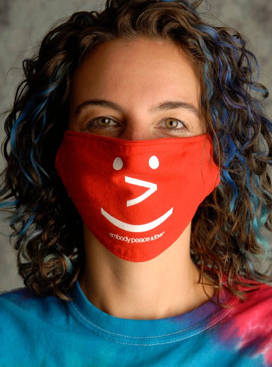 Face Mask ~ Smiley Face on colored masks. Buy any 2 Face Masks Get 13% Off ($2.08) at checkout!