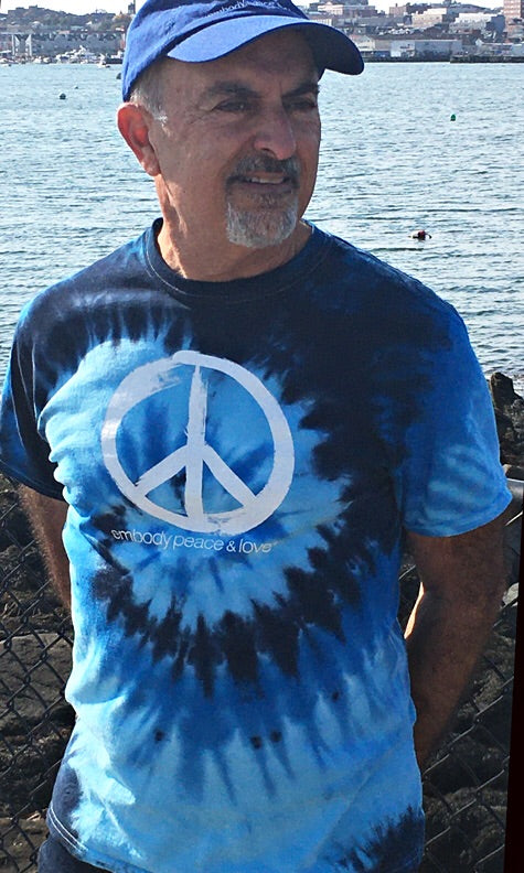 Unisex Peace Sign Tie Dye T-shirt