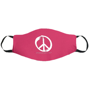 Face Mask ~ Peace Sign on colored masks. Buy any 2 Face Masks get $2.08 Off at checkout!
