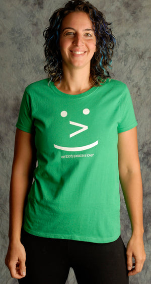 Women's Smiley Face T-shirt