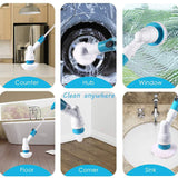 TurboSpin Professional Home Cleaning Brush Kit