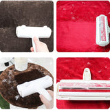 Reusable Dog Cat Fur Roller Sofa Clothes Cleaning Brush Pet Hair Remover Reusable Dog Cat Lint Pet Hair Remover