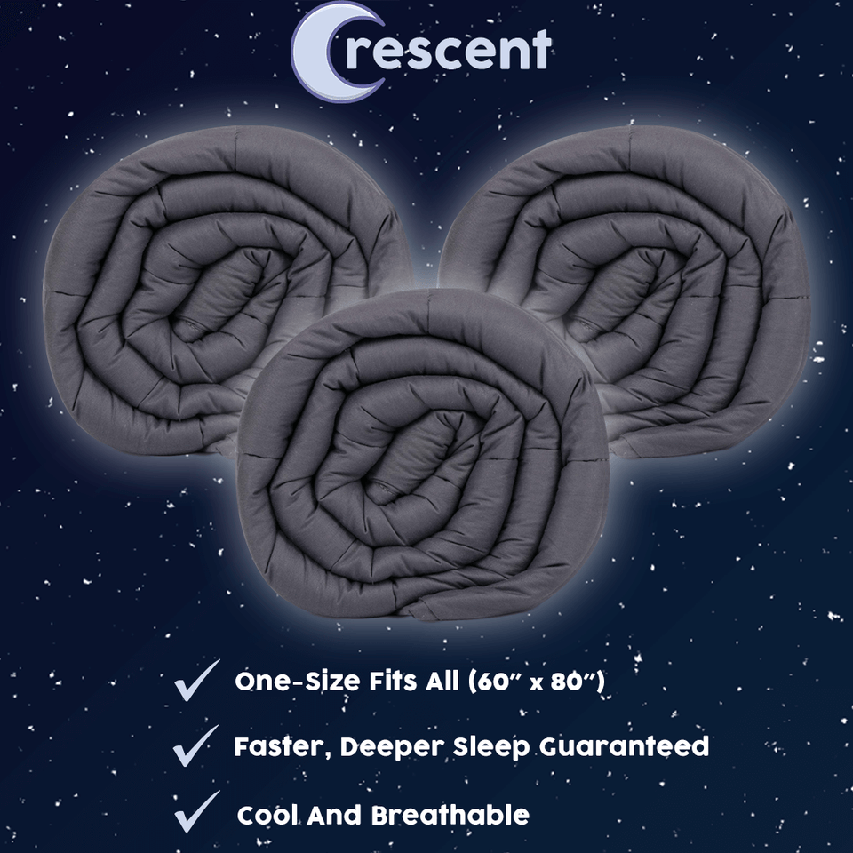 Crescent Weighted Blanket - Triple Pack