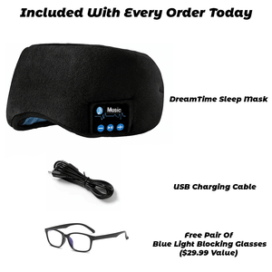 DreamTime Noise Eliminating Bluetooth Sleep Mask