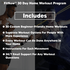 FitNow™ Workout Program - Free Full Body Home Workout System Included!