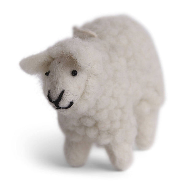 Én Gry & Sif - Fluffy Sheep, White