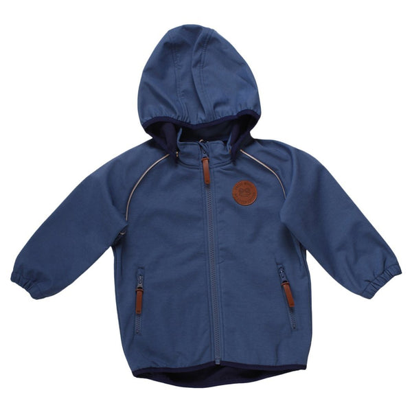 Fred's World softshell jakke - Grey Blue