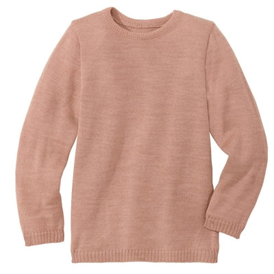 Image of   Disana pullover i uld - Rosé