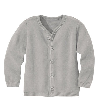 Disana cardigan i uld - Grey
