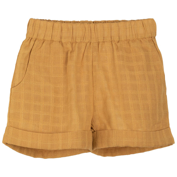 Serendipity shorts, barn - Golden Checks