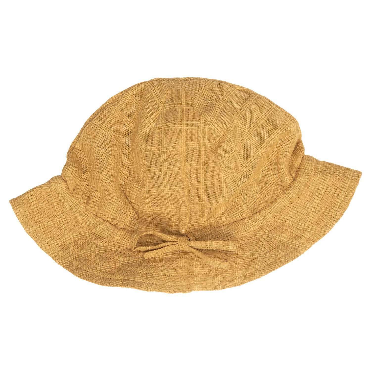 Image of   Serendipity sommerhat, barn - Golden Checks