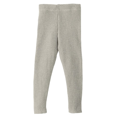 Disana bukser / leggings i uld m/rib - Grey