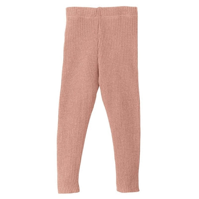 Image of   Disana bukser / leggings i uld m/rib - Rosé