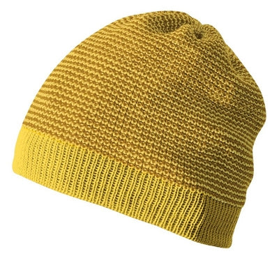 Image of   Disana hue / beanie i uld - Curry/Gold Mel.