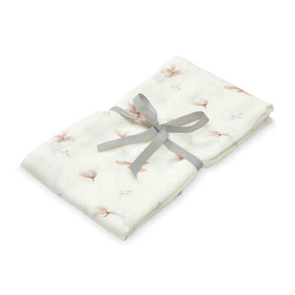 Cam Cam swaddle / svøb - Windflower Cream