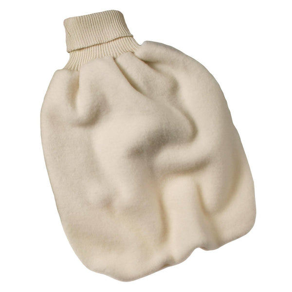 Engel sovepose i 100% uldfleece, 47cm - Natural