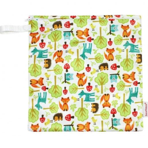 ImseVimse Wet Bag / Snack Bag - 28x16cm - Woodland